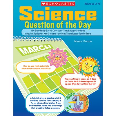 Science Question Of The Day Book by Scholastic