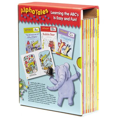 Alpha Tales Learning Library Book by Scholastic