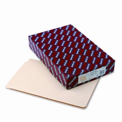 Smead Manufacturing Company Straight Cut Single-Ply End Tab Shelf Folders, 100/Box