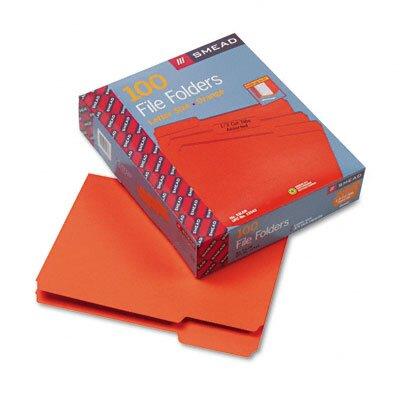 Smead Manufacturing Company 1/3 Cut Top Tab File Folders, Letter, 100/Box