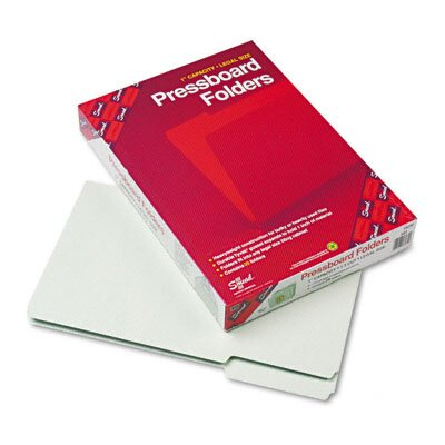 Smead Manufacturing Company Recycled Folders, One Inch Expansion, 25/Box