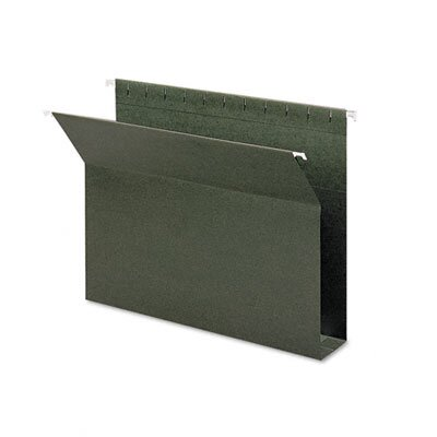 Smead Manufacturing Company Two Inch Capacity Box Bottom Hanging File Folders, Letter, 25/Box