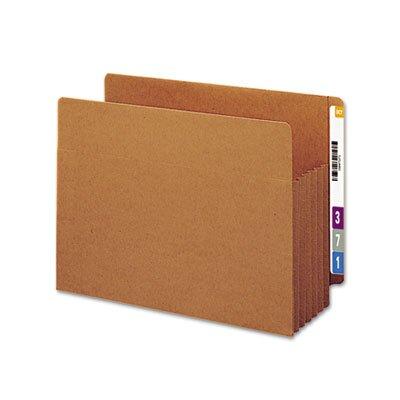 "Smead Manufacturing Company 5.25"" Accordion Expansion File Tuff Pockets, 10/Box"