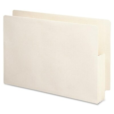 """Smead Manufacturing Company 3.5"""" Accordion Expansion End Tab File Pocket, 25/Box"""
