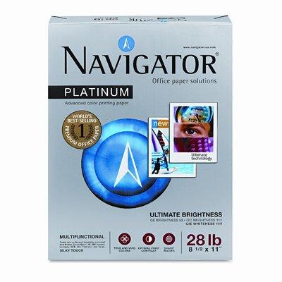 Soporcel North America Platinum Office Paper, 99 Brightness, 28lb, Letter, White, 1 Ream (500 Sheets)