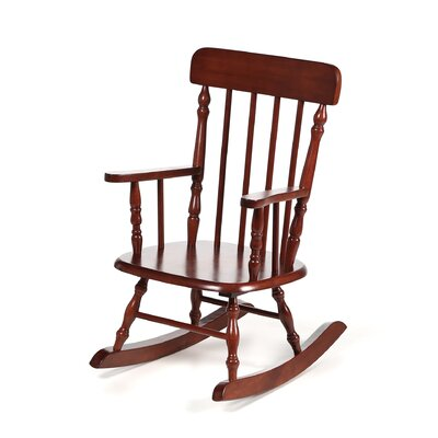 Gift Mark New Style Spindle Kids' Rocking Chair