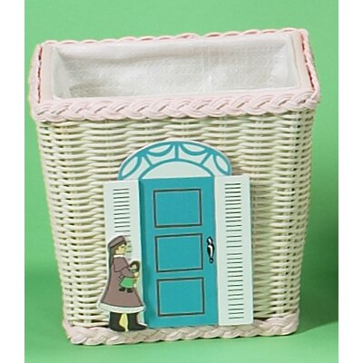Basket with Doll Shop Motif by Gift Mark