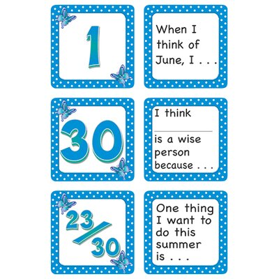 Teacher Created Resources June Polka Dots Story Calendar Days Calendars Accessory
