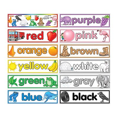 Teacher Created Resources Colors Bulletin Board Cut Out