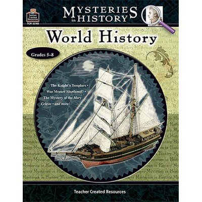 Teacher Created Resources Mysteries in History World History Book