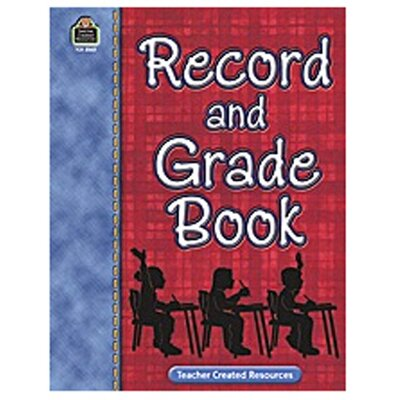Teacher Created Resources Record and Grade Book
