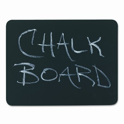The Chenille Kraft Company Chenille Kraft Combo Dry-Erase Lap Board Combination Chalkboard, 1' x 1'