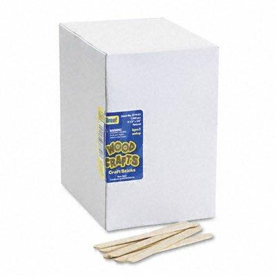 The Chenille Kraft Company Natural Wood Craft Sticks, 4 1/2 X 3/8, 1000/Box