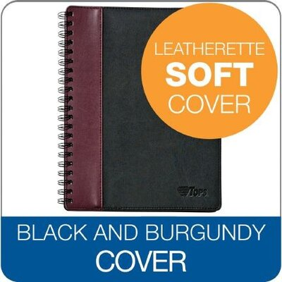 Tops Business Forms Tops Leatherette Notebook