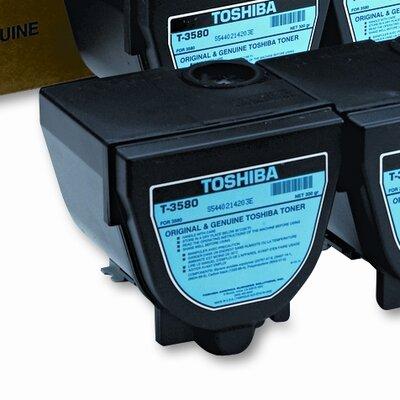 Toshiba T3580 OEM Toner Cartridge, 10000 Page Yield, Black