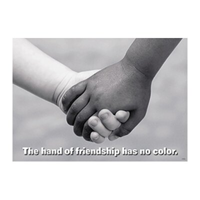 Trend Enterprises The Hand of Friendship Poster