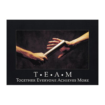 Trend Enterprises T.e.a.m. Together Everyone Poster
