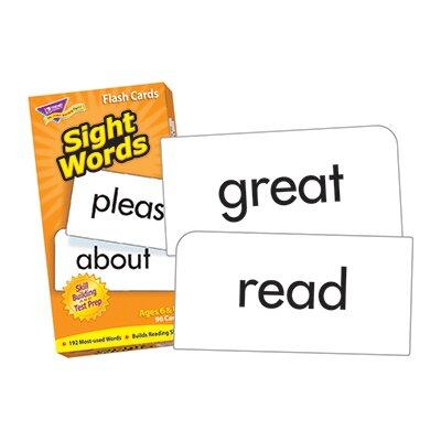 Trend Enterprises Sight Words Flash Cards