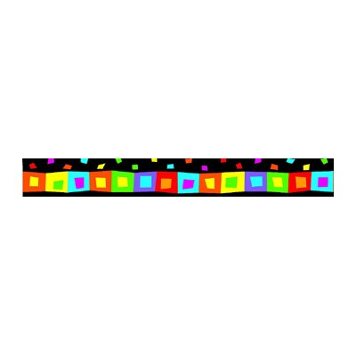 Trend Enterprises Silly Squares Terrific Trimmers Classroom Border
