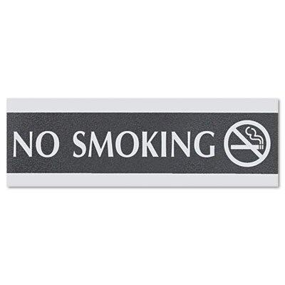 U.S. Stamp & Sign Headline Sign Century Series Office Sign, No Smoking
