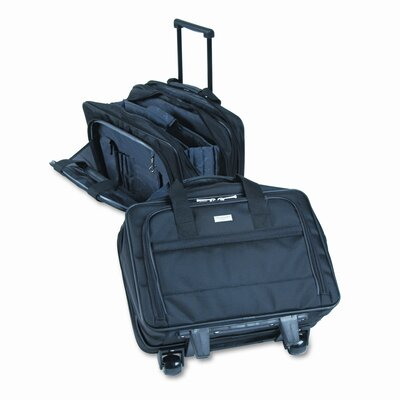 UNITED STATES LUGGAGE Solo Rolling Laptop Case, Poly