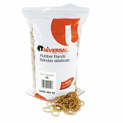 Universal® Rubber Bands, 3400 Bands/1 lb Pack