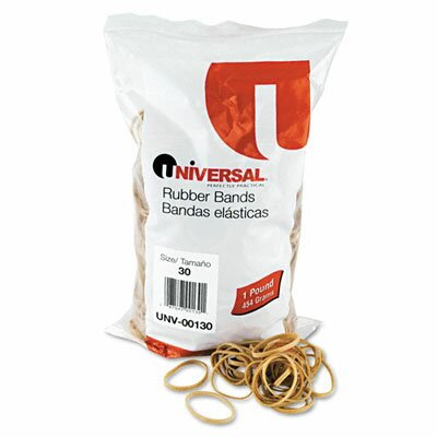 Universal® Rubber Bands, 1100 Bands/1 lb Pack