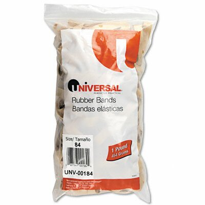 Universal® Rubber Bands, 155 Bands/1 lb Pack