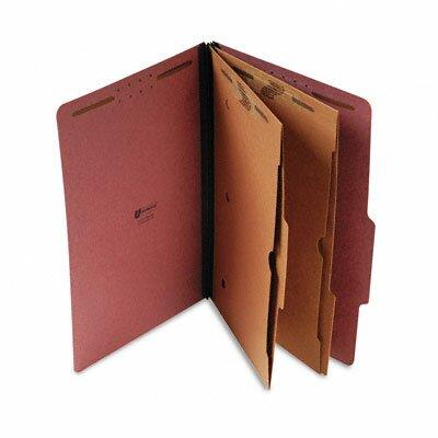 Universal® Pressboard Folder with 2 Dividers, 10/Box