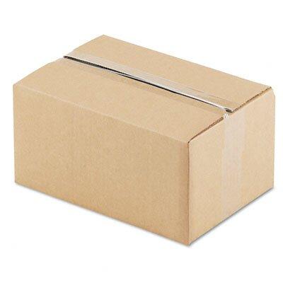 "Universal® Corrugated Kraft Fixed-Depth Shipping Carton, 25/Bundle (6"" H x 12"" W x 8"" D)"
