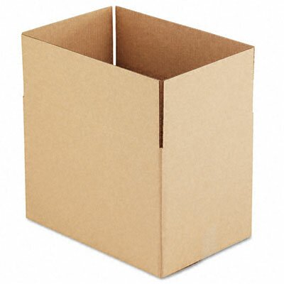 "Universal® Corrugated Kraft Fixed-Depth Shipping Carton, 25/Bundle (31"" H x 25"" W x 9"" D)"