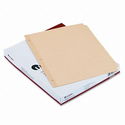Universal® Economy Tab Dividers, 24 Sets/Box