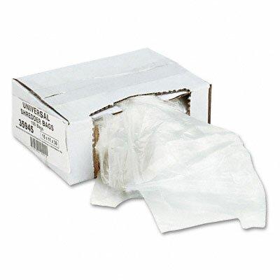 Universal® High-Density 16 Gallon Shredder Bag (100 Bags/Carton)