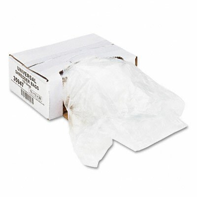 Universal® High-Density 16 Gallon Shredder Bag (100 Bags/Carton)