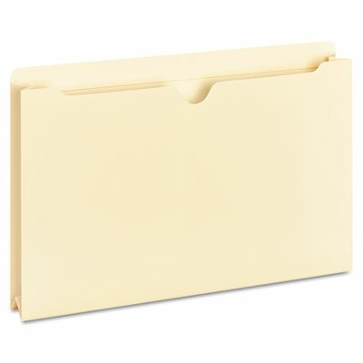 Universal® Manila File Jackets with Reinforced Tabs