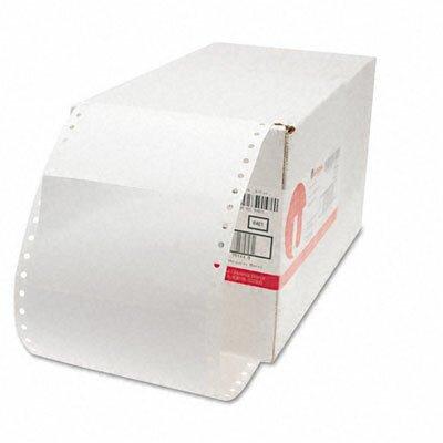 Universal® 1 Across Dot Matrix Printer Labels, 3000/Box