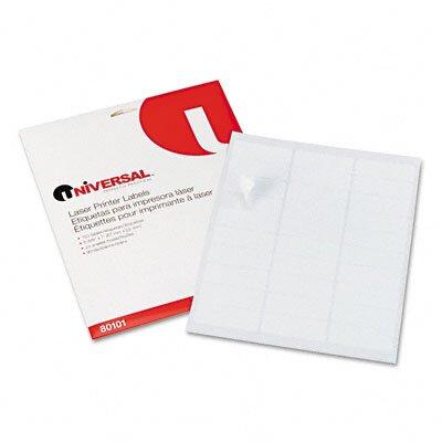 Universal® Laser Printer Permanent Labels, 750/Pack