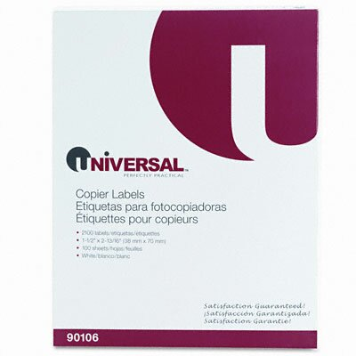 Universal® Address Labels for Copiers, 2100/Box