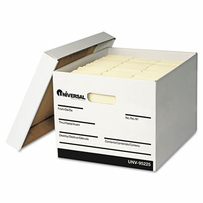 Universal® Extra-Strength Storage Box, 12/Carton