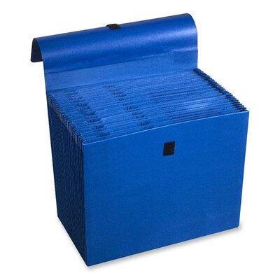 "Wilson Jones Expanding File, 31 Pockets, Labeled 1-31, 10""x12"", Dark Blue"