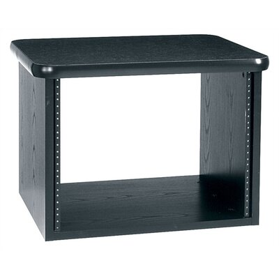 Middle Atlantic Edit Center Table Top Rack with Graphite Top