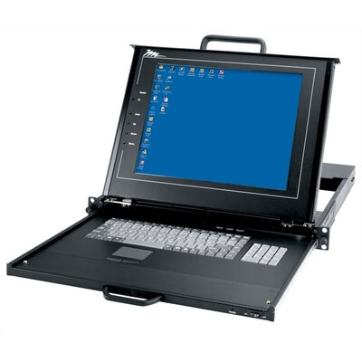 Middle Atlantic Rackmount with LCD, Keyboard and Touchpad