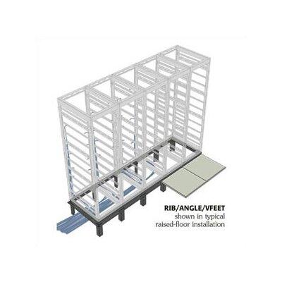"Middle Atlantic RIB Series Raised Floor Support Angles, for DRK 31"" racks"