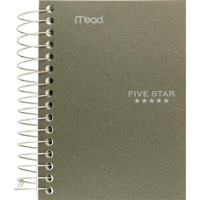 """Mead 5.5"""" x 4"""" Five Star Fat Lil' Wirebound Notebook"""
