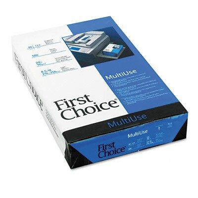 WEYERHAEUSER Multiuse Premium Paper, 98 Brightness, 24Lb, 8-1/2 X 14, 500 Sheets/Ream