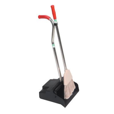 Unger Ergo Dustpan with Broom in Black / Silver
