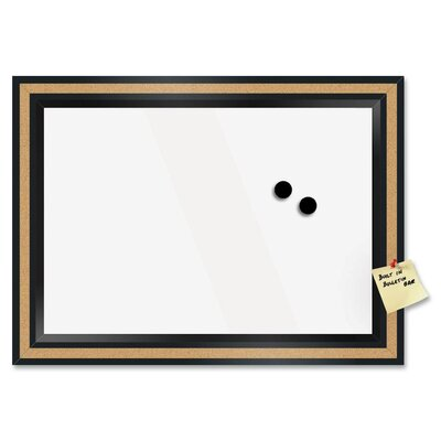 "The Board Dudes Wall Mounted Magnetic Whiteboard, 18""x 22"""
