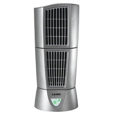 "Lasko Lasko Platinum Desktop Wind Tower 6"" Oscillating Tower Fan"