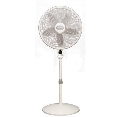 "Lasko 20.25"" Oscillating Pedestal Fan with Remote Control"