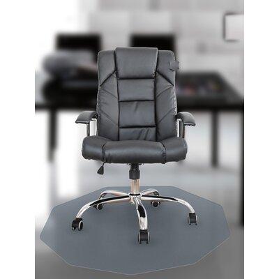 Cleartex 9 Sided Chair Mat by FLOORTEX